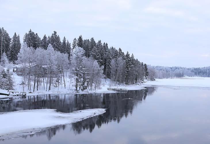Описание природы зимой